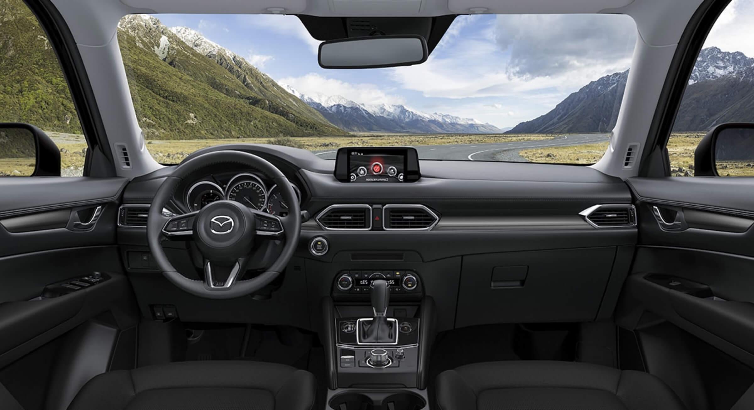 Black Cloth Mazda Cx5 Interior Foto 2