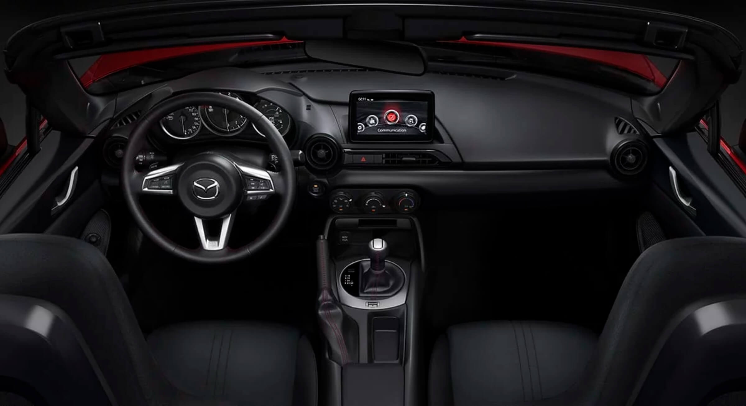 Black Cloth Mazda Mx5