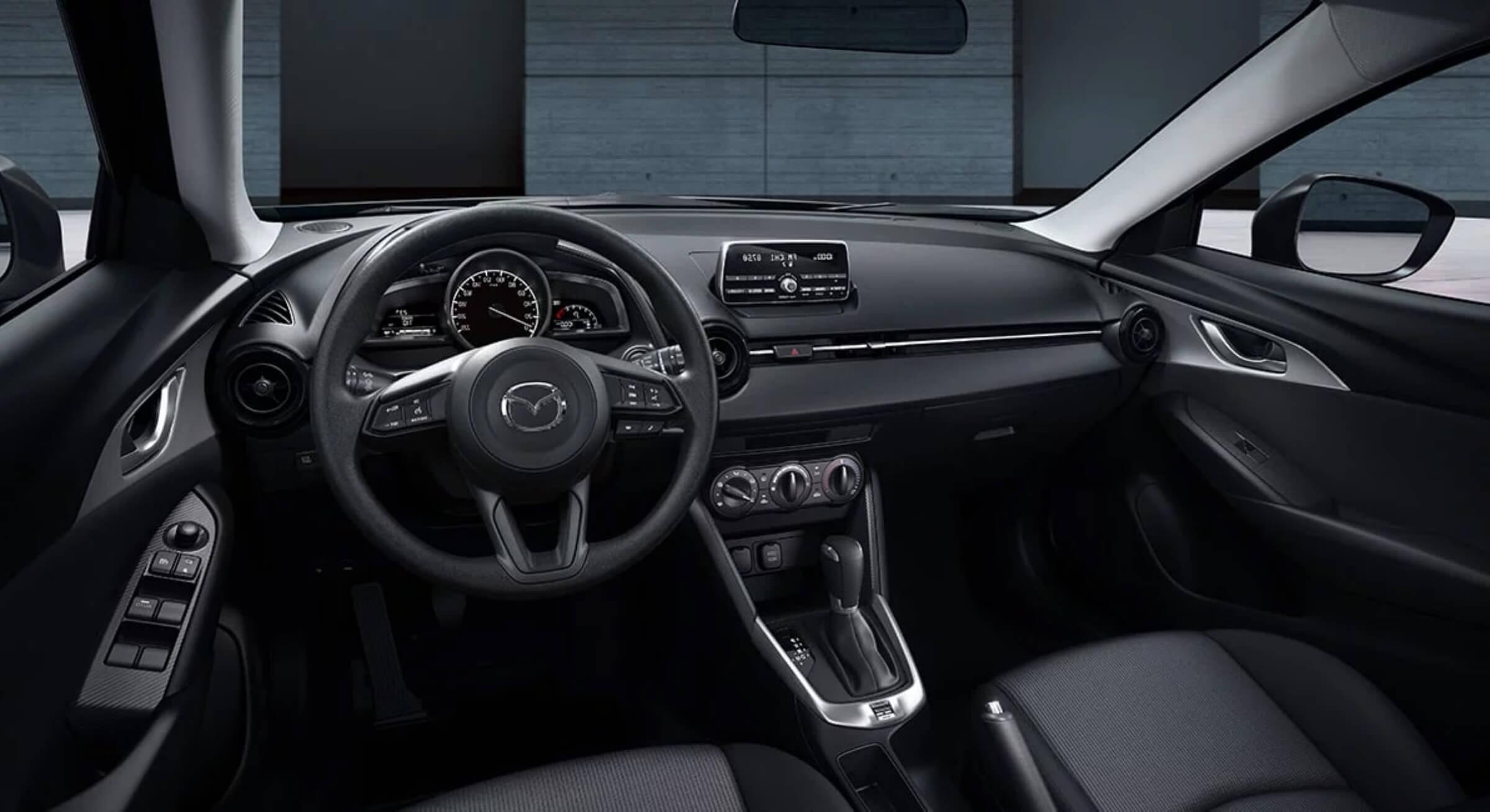 Black Leather Mazda Cx3 Interior Foto 1