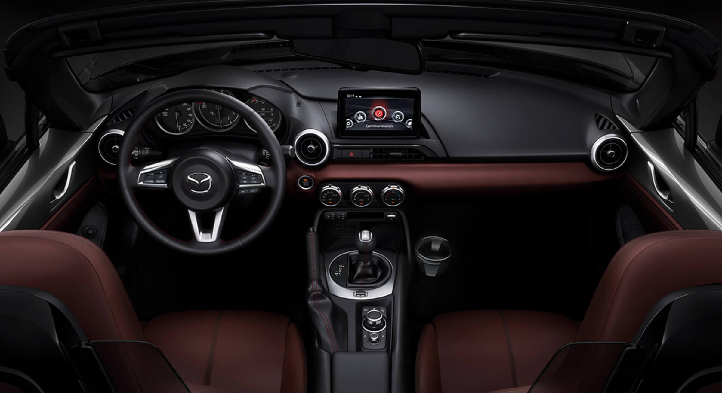 Red Stitching Mazda Mx5 Interior Foto 5 (1)